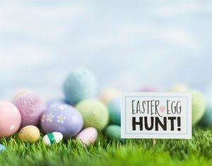 Linwood Farms Easter egg hunt